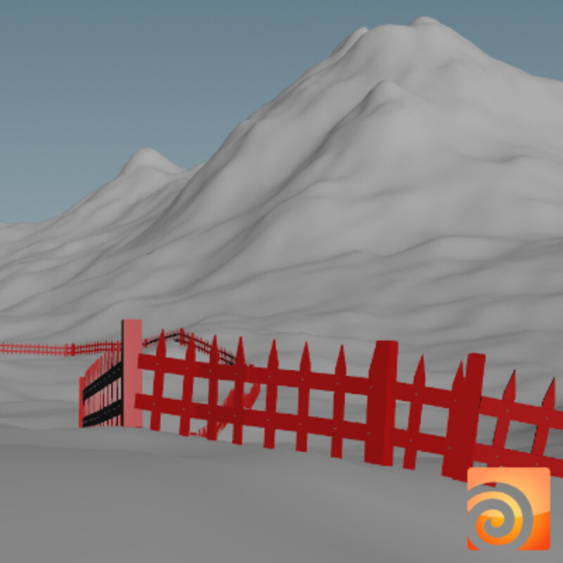 Fence Tool in Houdini