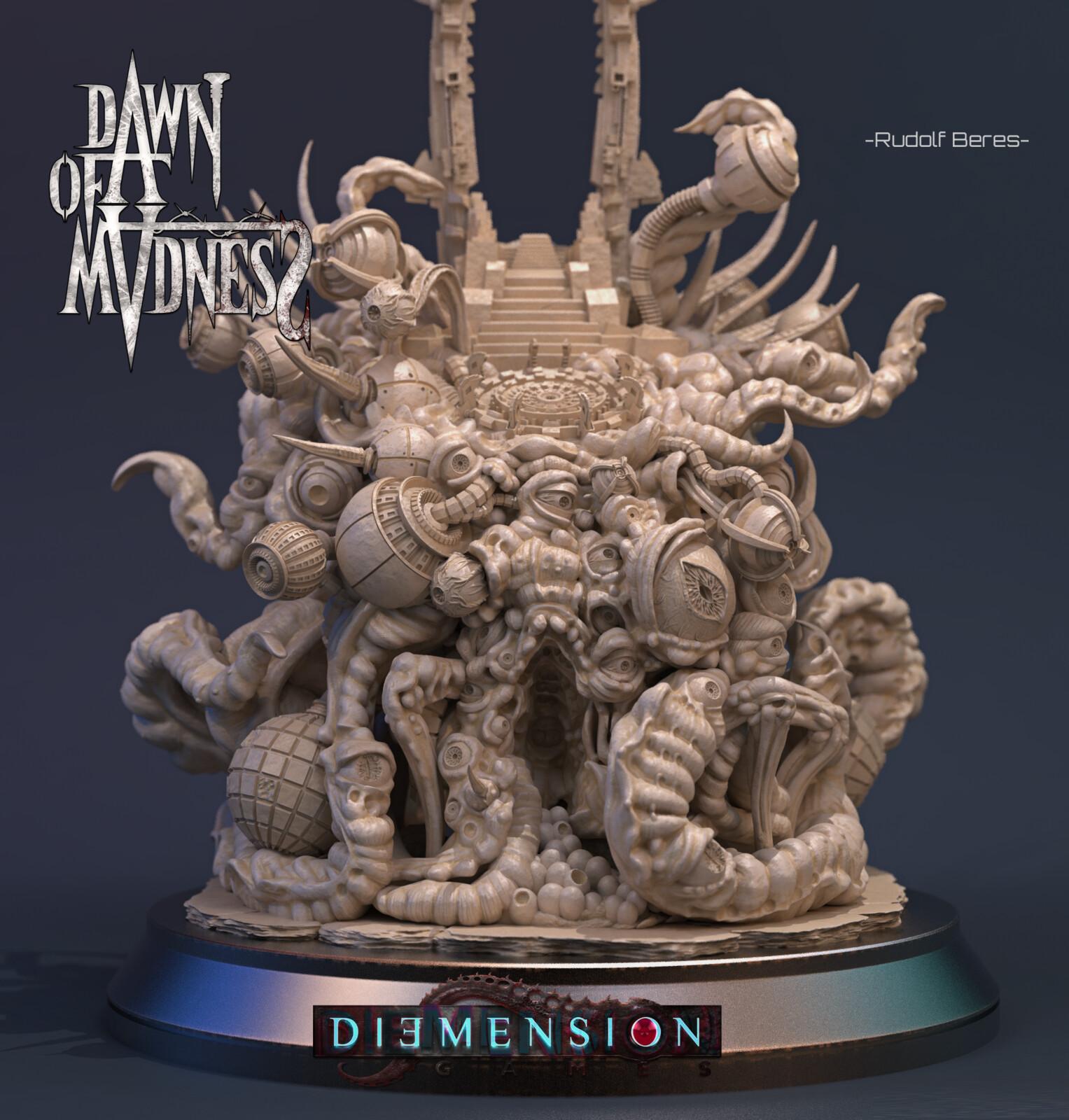 Dawn of Madness Statue Yog-Sothoth