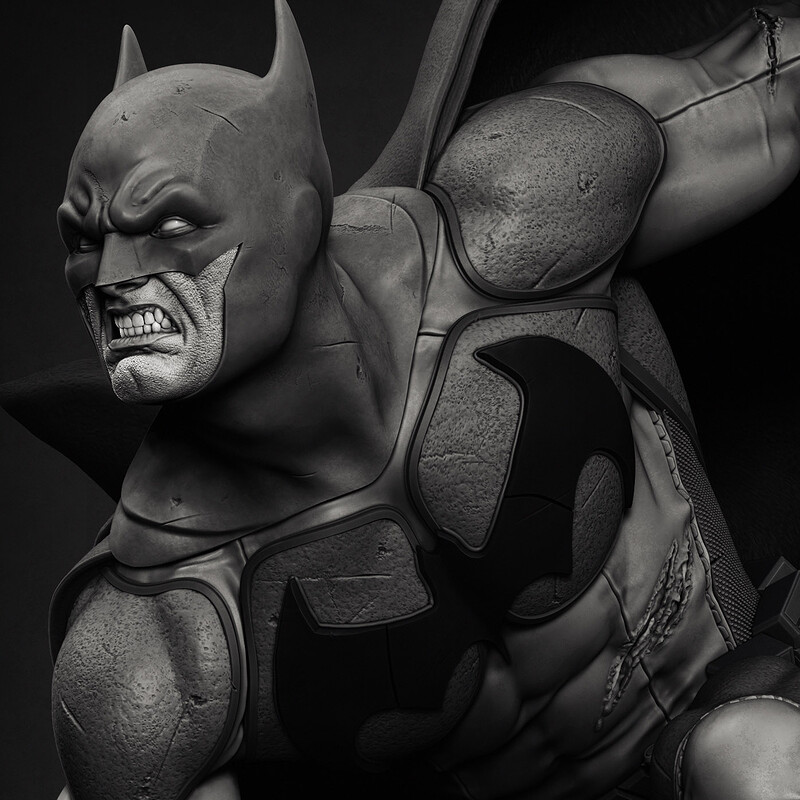 Batman 1/4 Statue
