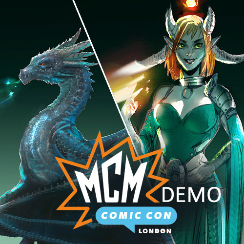 MCM Comic Con London Workshop @ Wacom Booth