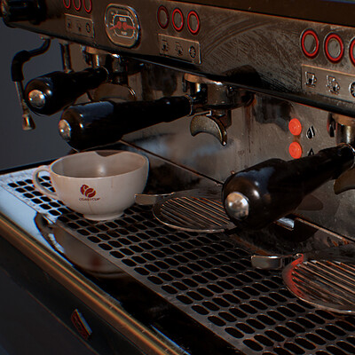 Hannah watts coffeemachinecover