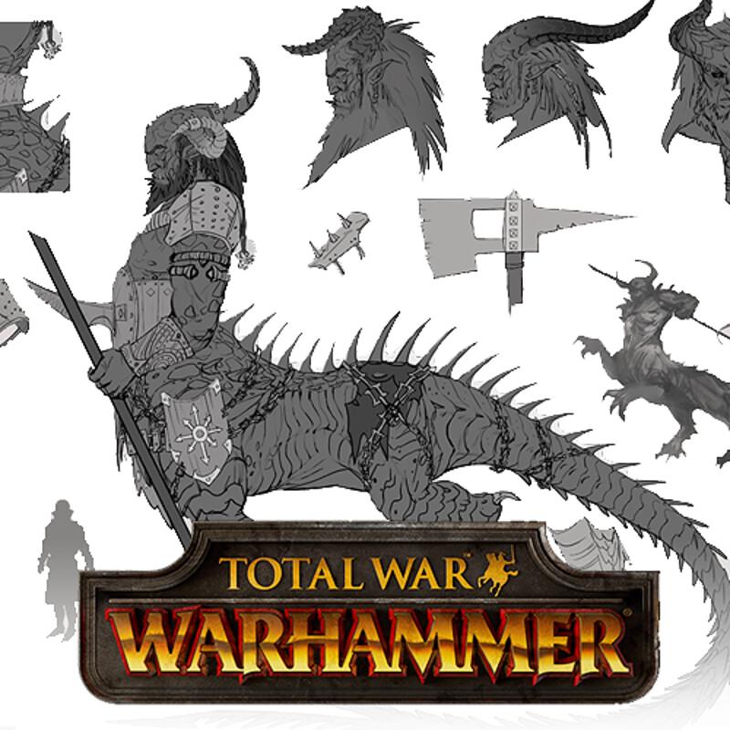 Total War: Warhammer - Dragon Ogres