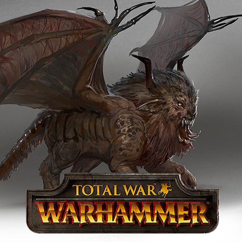 Total War: Warhammer Concept Art - Manticore