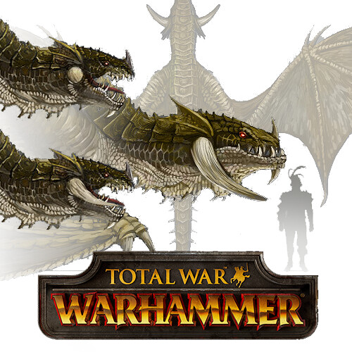 Total War: Warhammer Concept Art - Wyvern