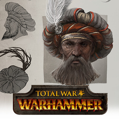 Total War: Warhammer Concept Art - Empire Noble Hat