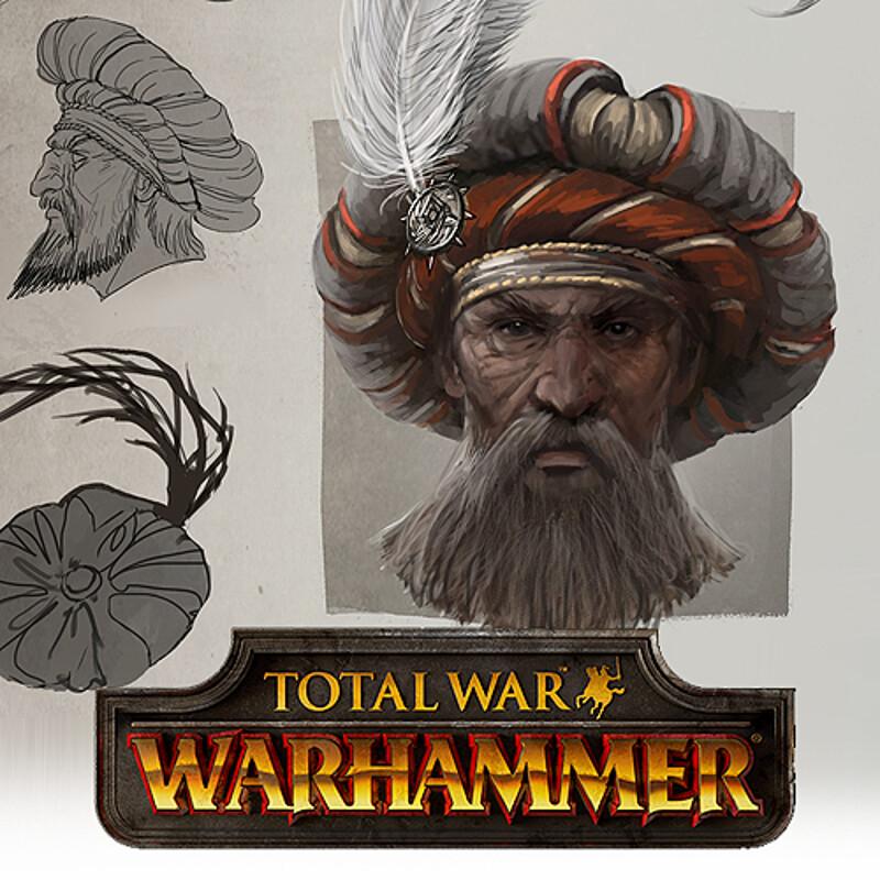 Total War: Warhammer Concept Art - Empire Noble Hat