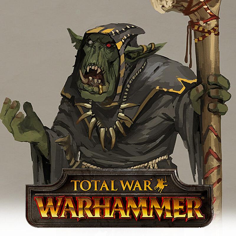 Total War: Warhammer Concept Art - Orc Shaman