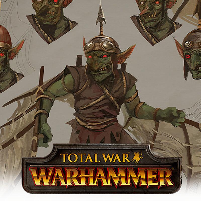 TW: Warhammer Concept Art - Goblin Doom Diver