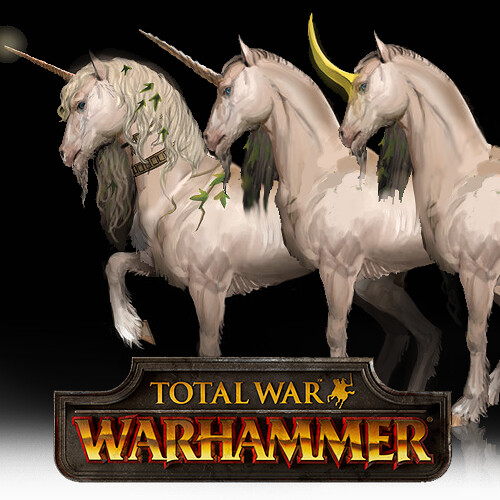 Total War: Warhammer Concept Art - Unicorn