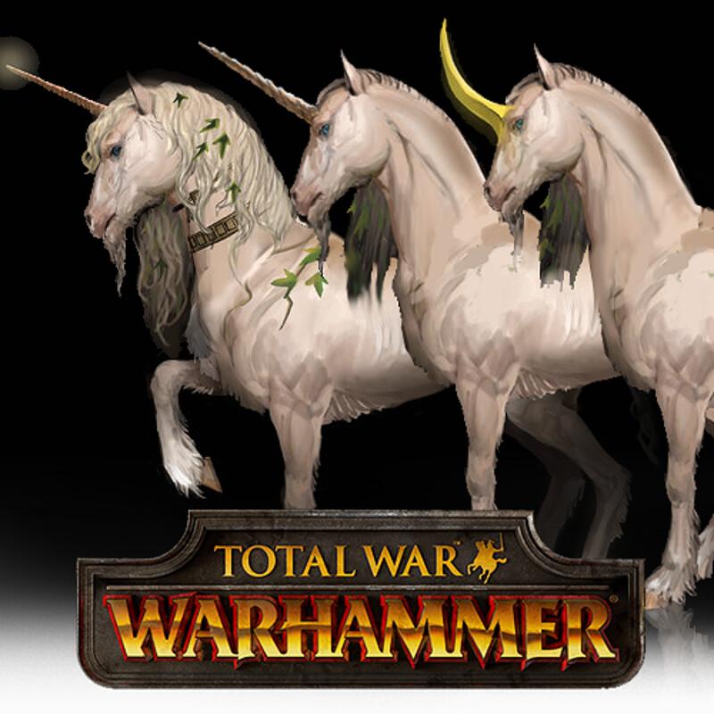 Total War: Warhammer Concept Art - Unicorn