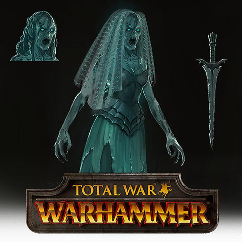 Total War: Warhammer Concept Art - Banshees
