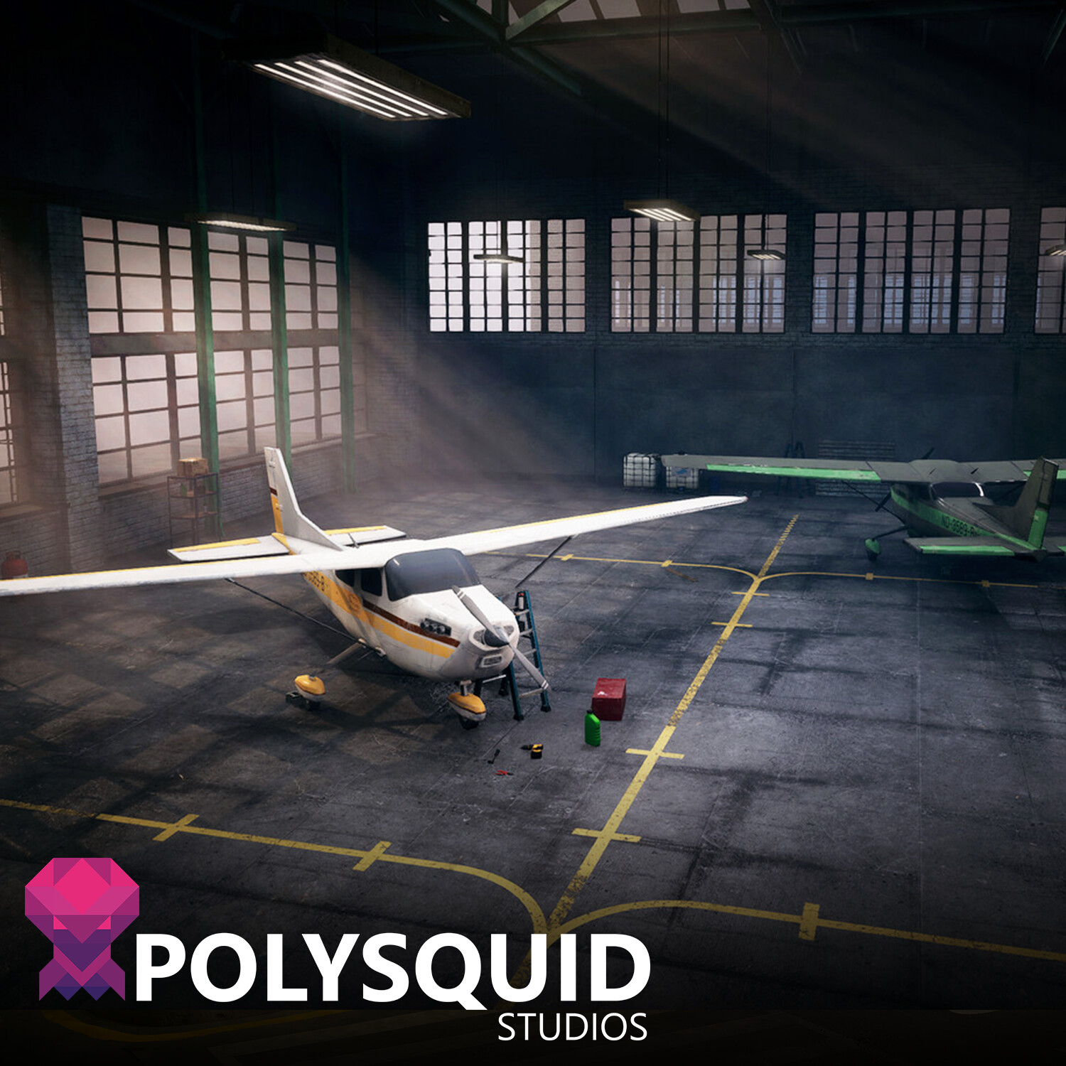 Airplane Hangar - Unreal Engine