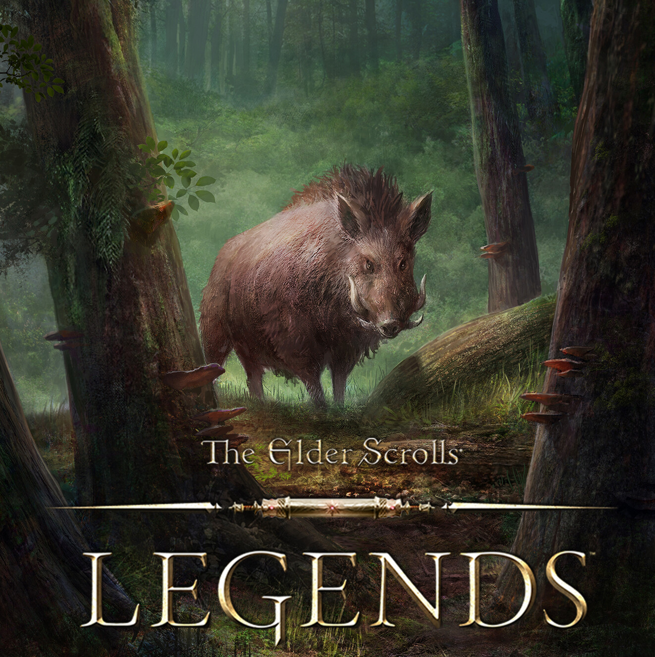 Elder Scrolls Legends - Wild Boar