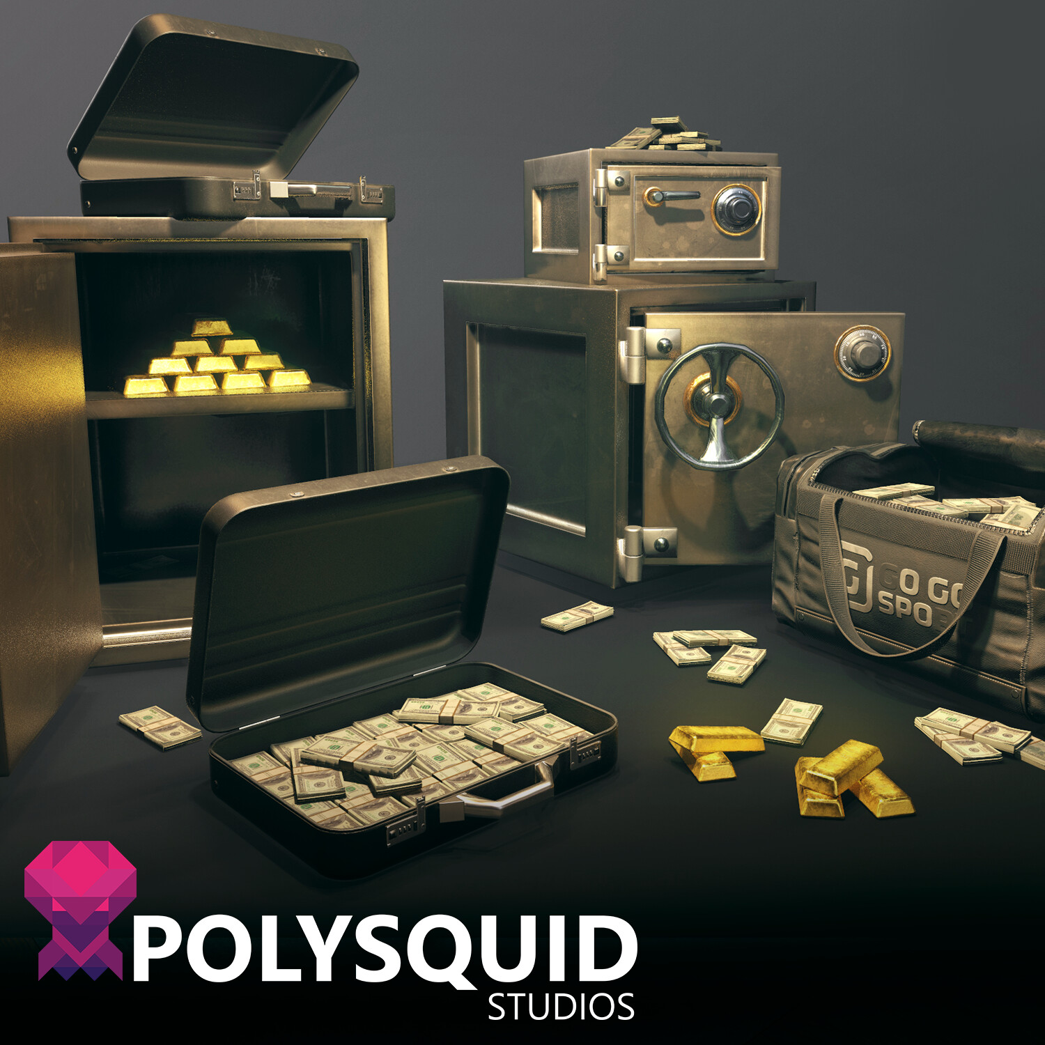 Heist loot pack - Unreal 4