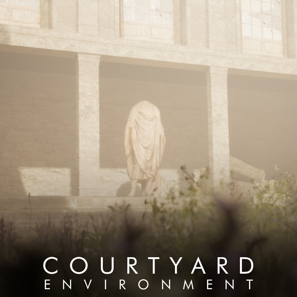 Courtyard Modular Environment