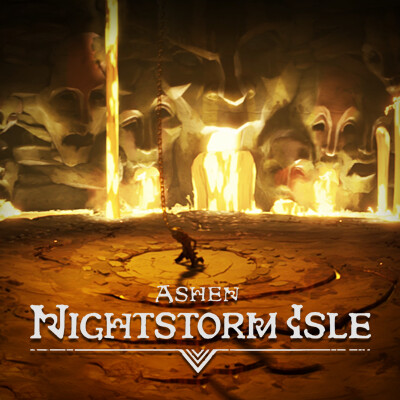 Ashen Nightstorm Isle: Riak's Boss Arena