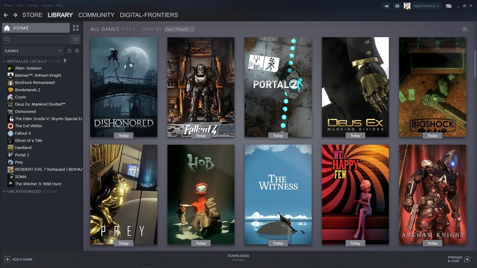 Custom Steam Game Covers