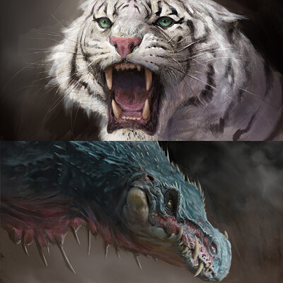 Antonio j manzanedo tiger and dragon