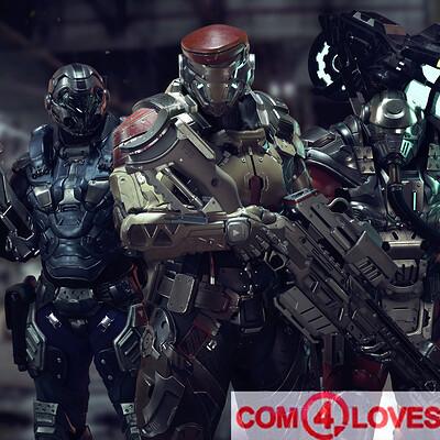 Red Alert - Com 4 Loves
