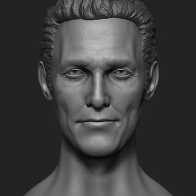 Likeness WIP - Matthew McConaughey