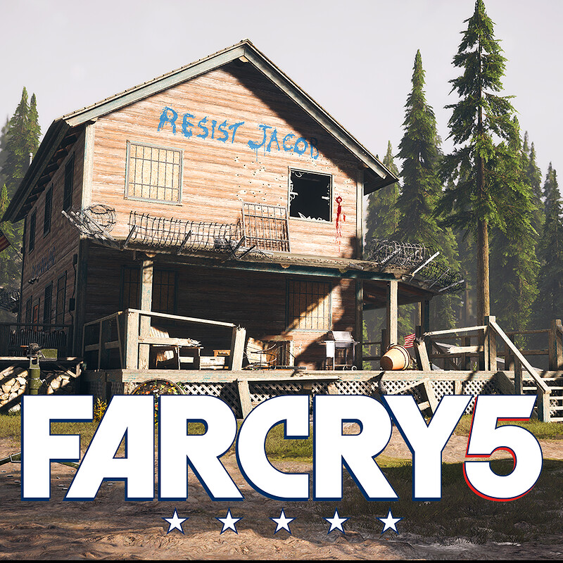 Far Cry 5 | Elliot Residence