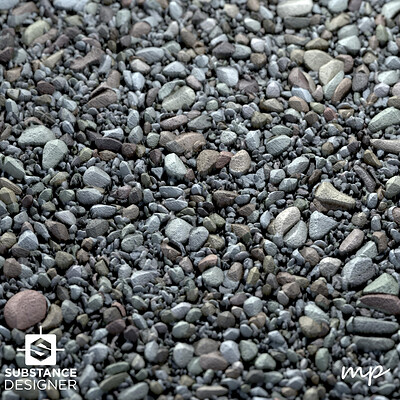 Manmade Landscape Gravel
