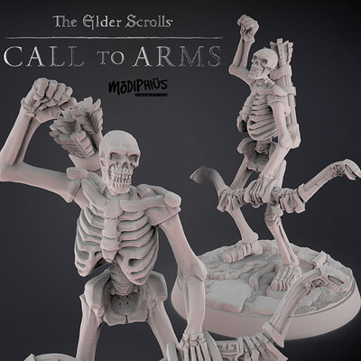 Skeleton Archers III . The Elder Scrolls - Call to Arms