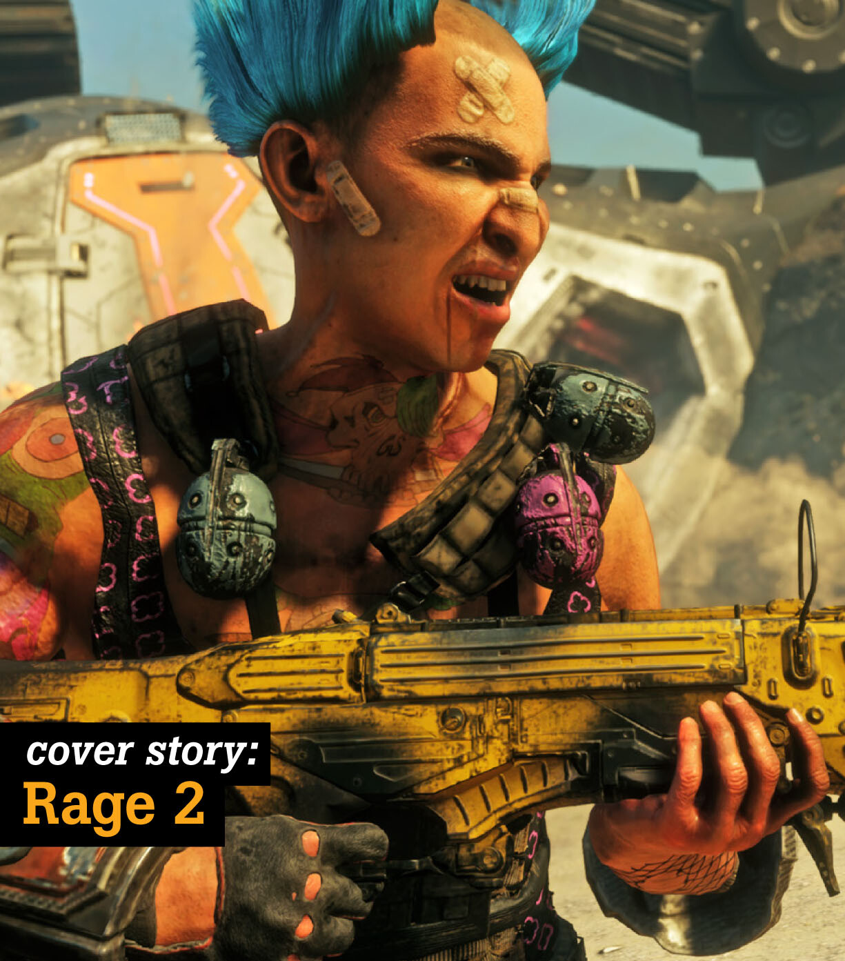Rage 2 Game Informer Cover Article Screenshots
