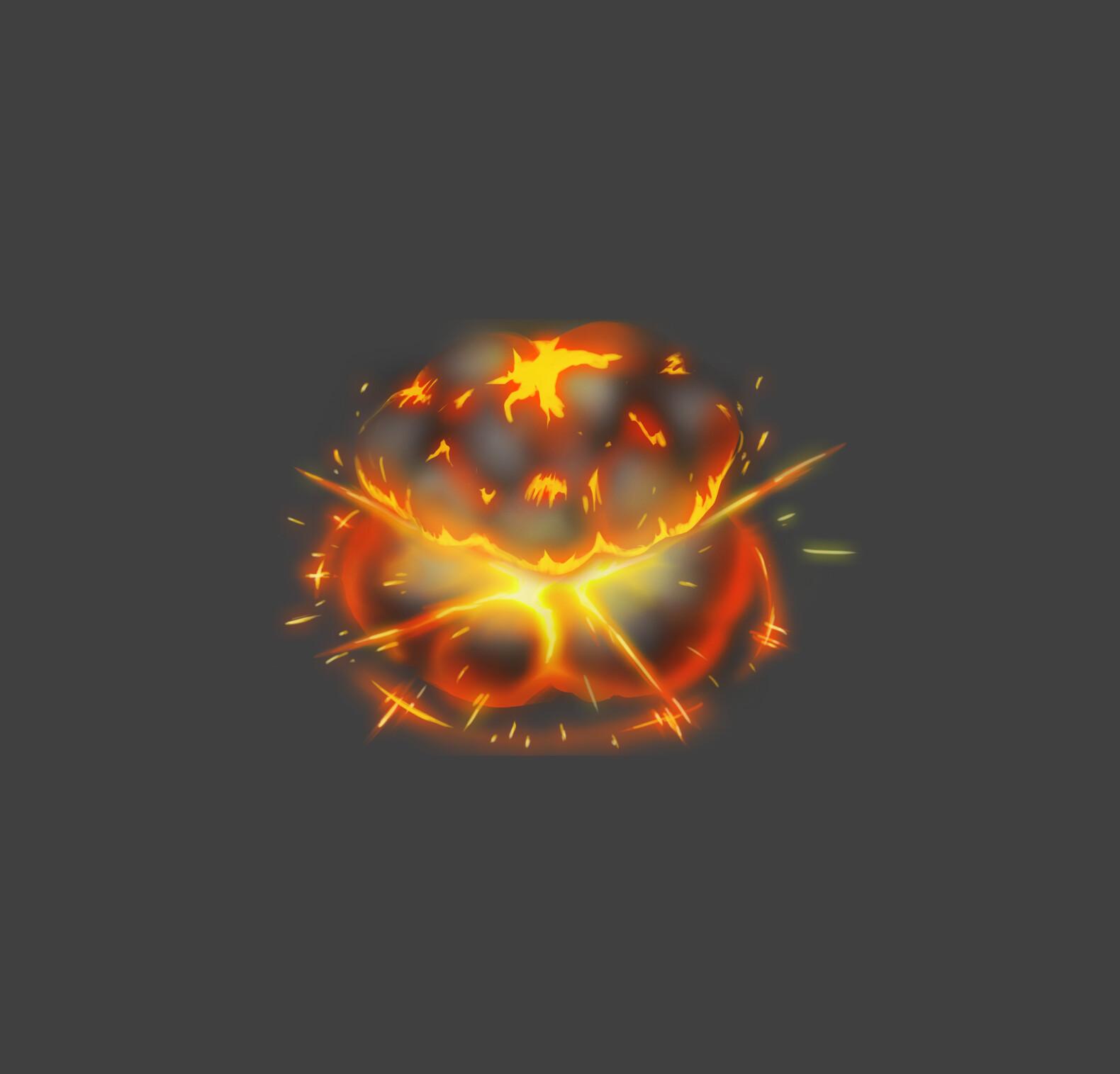 Fire Explosion FX Concept