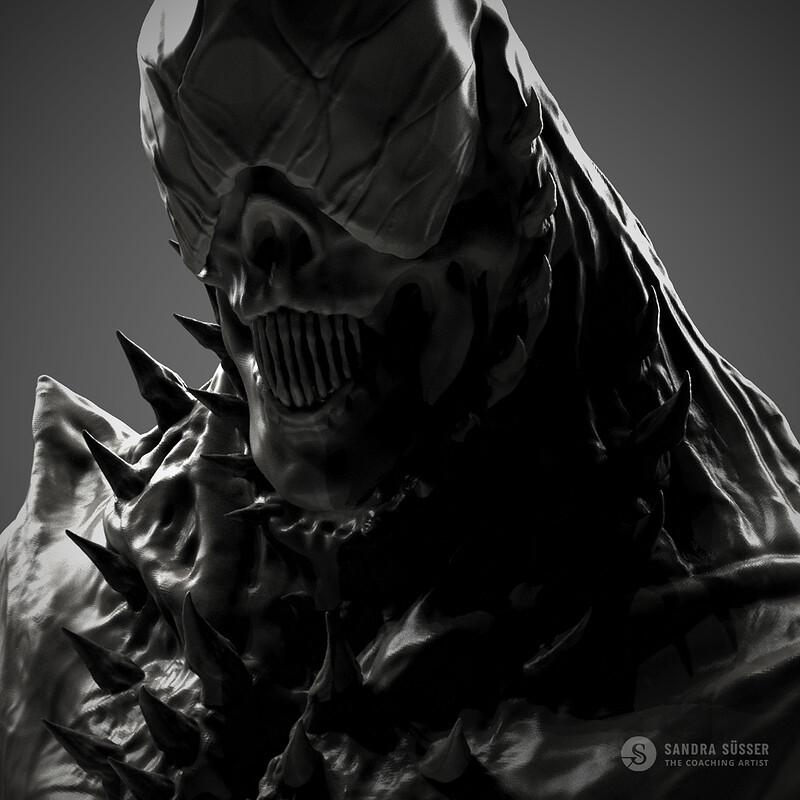 Sculptober / Inktober – Demon