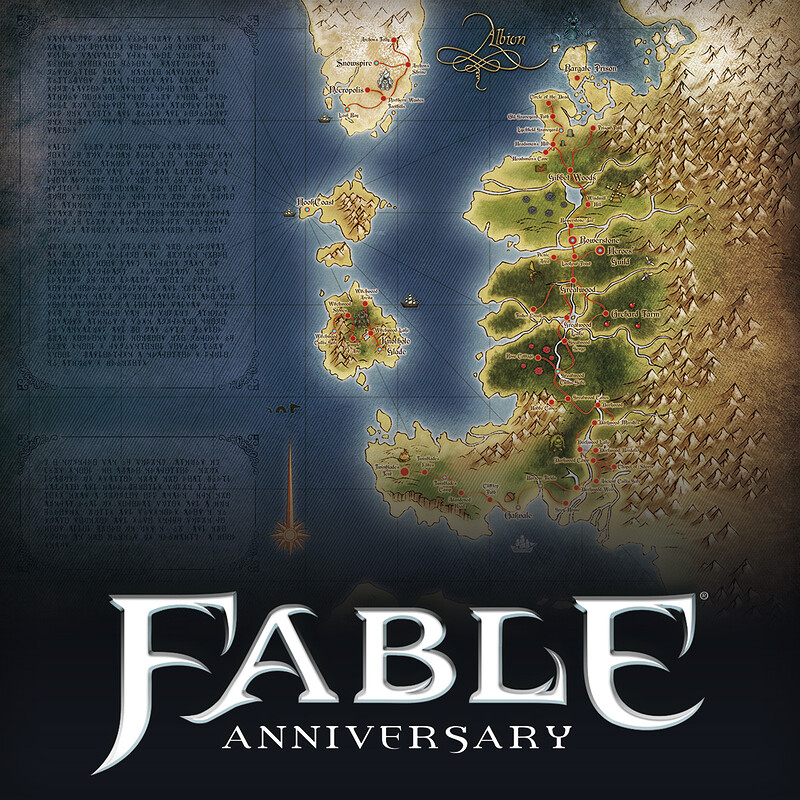 Fable Anniversary - Map