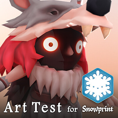 Art Test for Snowprint Studios