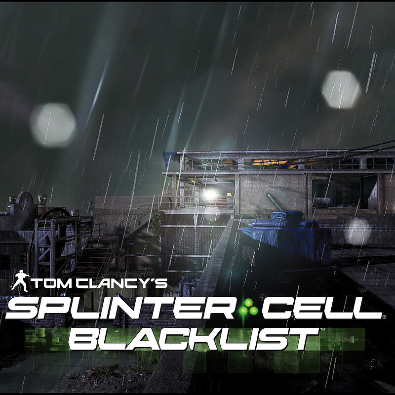 Splinter Cell: Blacklist [Abandoned Mill]  [Modelling | Level Art]