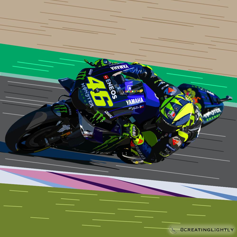 Valentino Rossi - YAMAHA YZR-M1