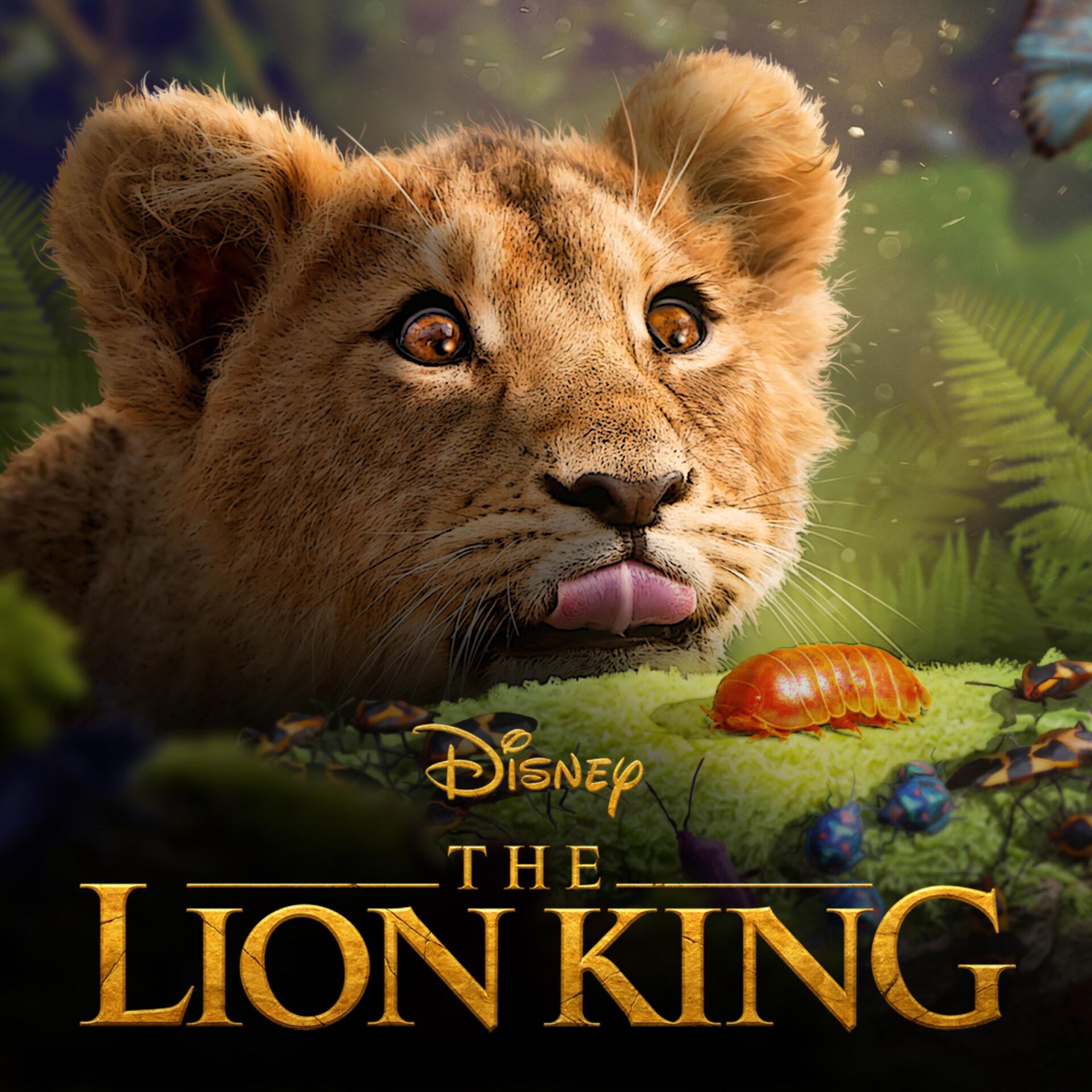Artstation The Lion King 2019 Disney Evan Whitefield
