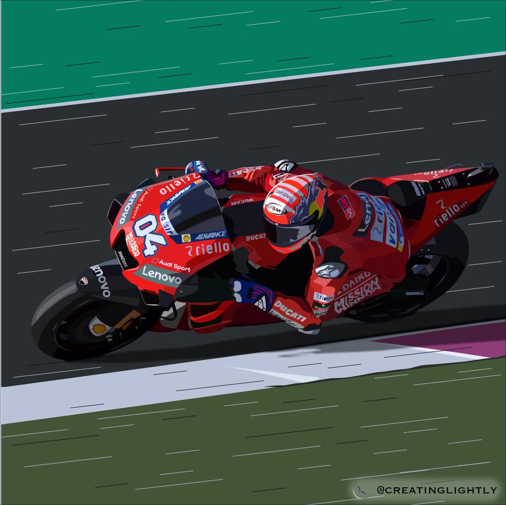 Andrea Dovizioso - Ducati Desmosedici GP