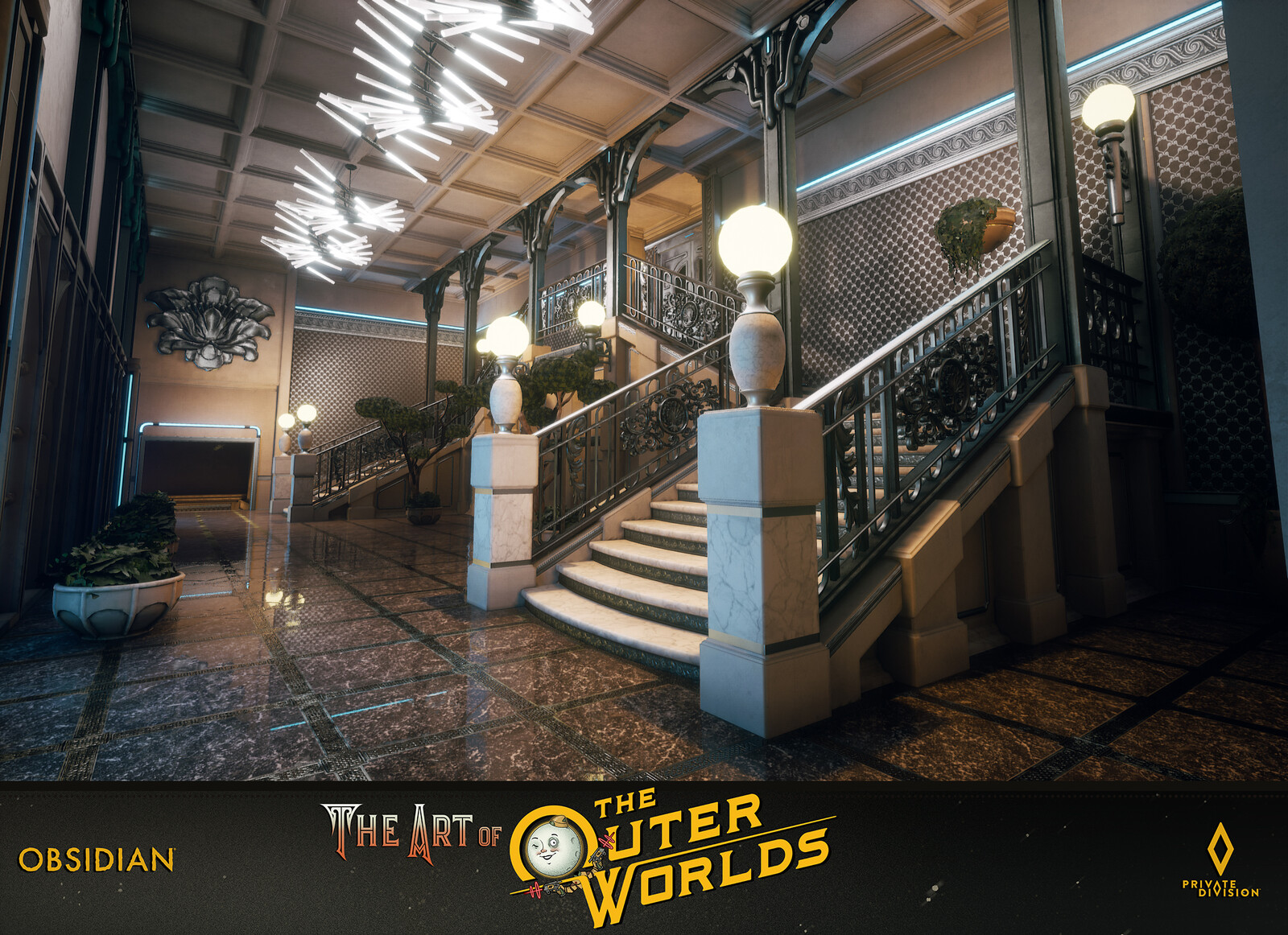 The Outer Worlds Tartarus Level Building