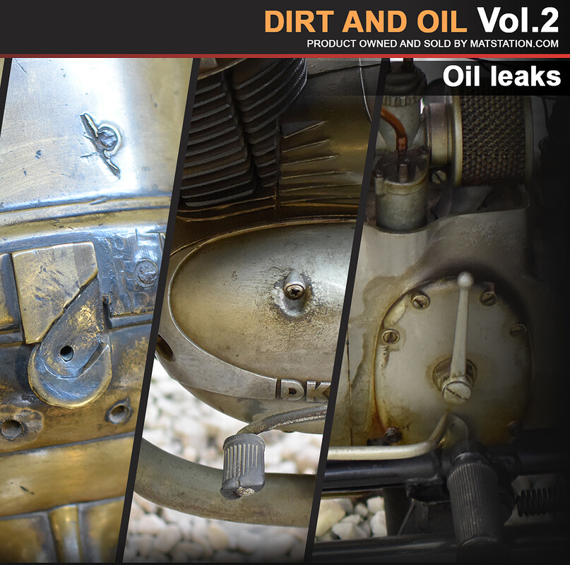 Photo Pack - Vehicle Dirt and Oil - Vol.2
