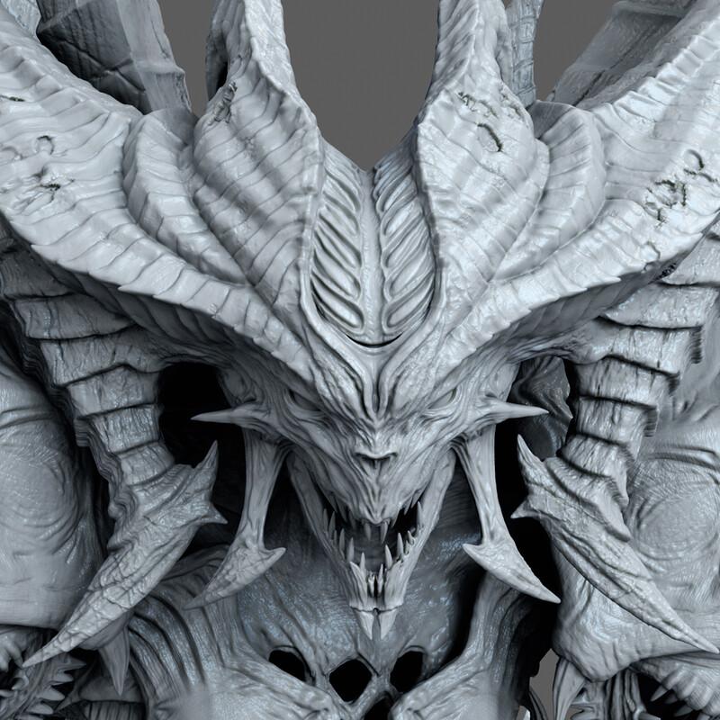 Diablo Prime Evil Sculpt