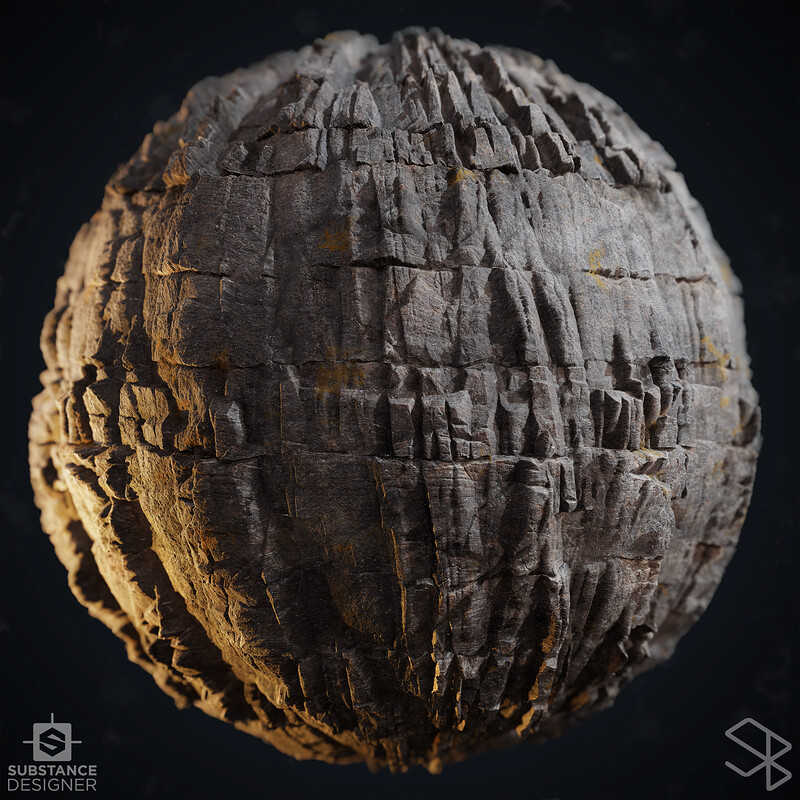 Rock Study - Substance Designer