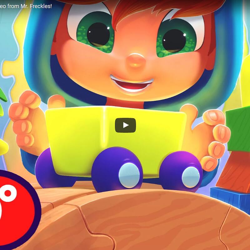 Choo-Choo Train Ride! 360 Degree Video from Mr. Freckles!