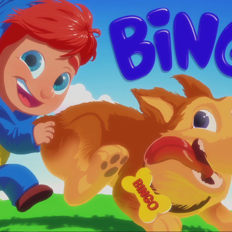 BINGO Song   Nursery Rhymes and Baby Songs from Mr. Freckles
