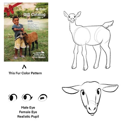 Sydney dennis goat concept sketches