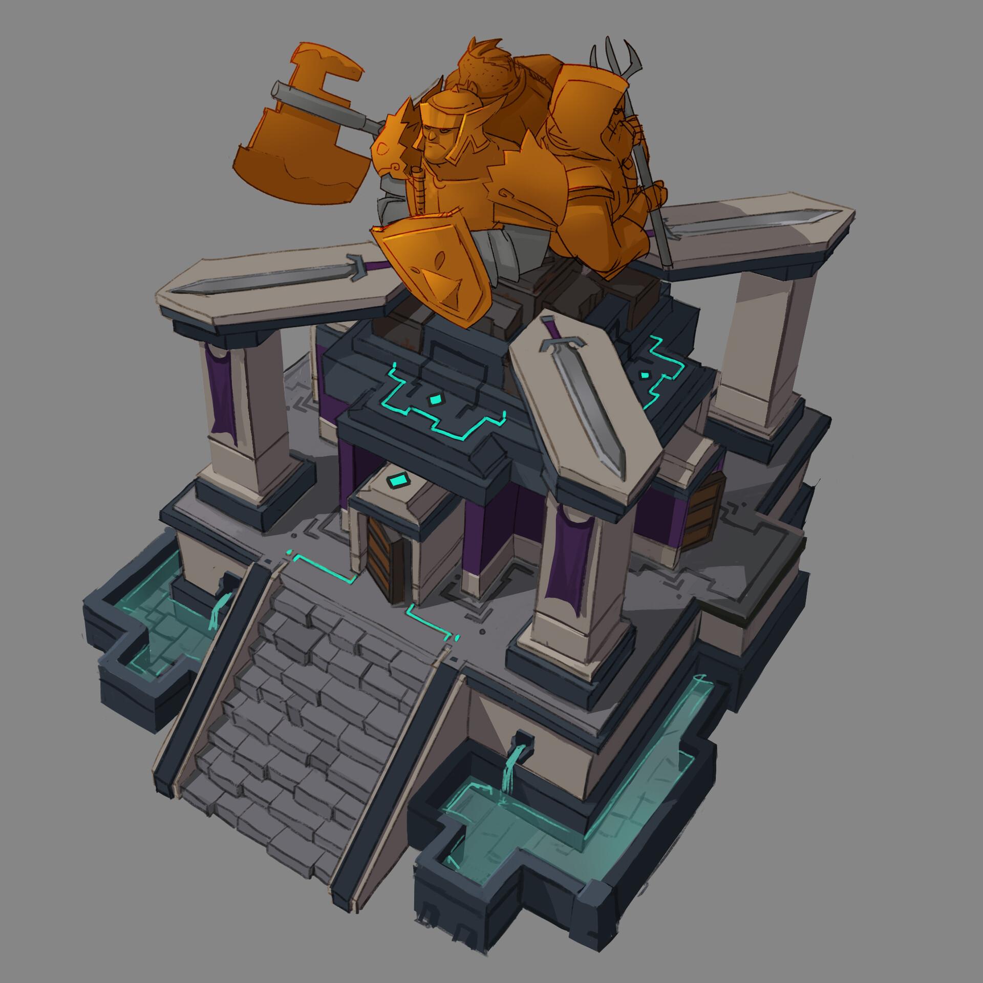 Building Exploration: Might & Mayhem
