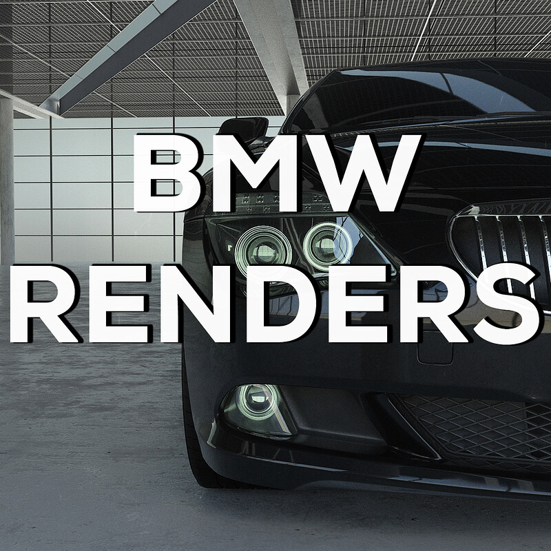 BMW Car Model - Vehicle Design