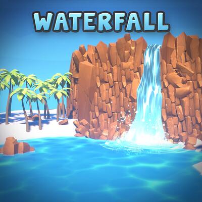 Gabriel aguiar shadergraph waterfall squarethumbnail v1 1