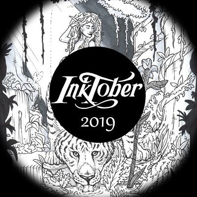 Meagen ruttan inktober 2019 artstation thumbnail part 2