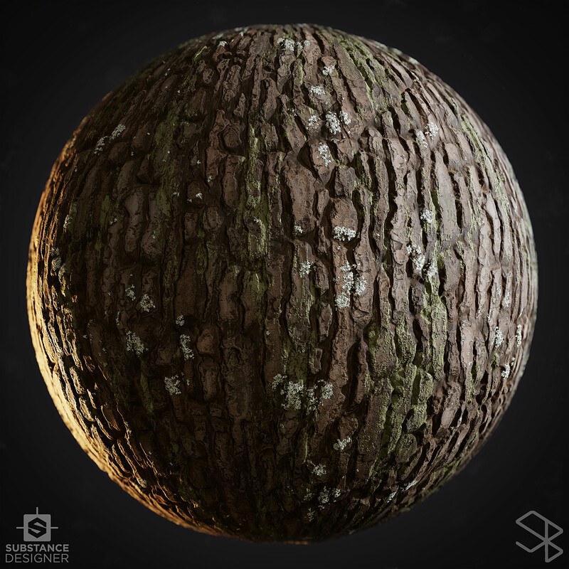 Bark - #Nodevember Substance Designer