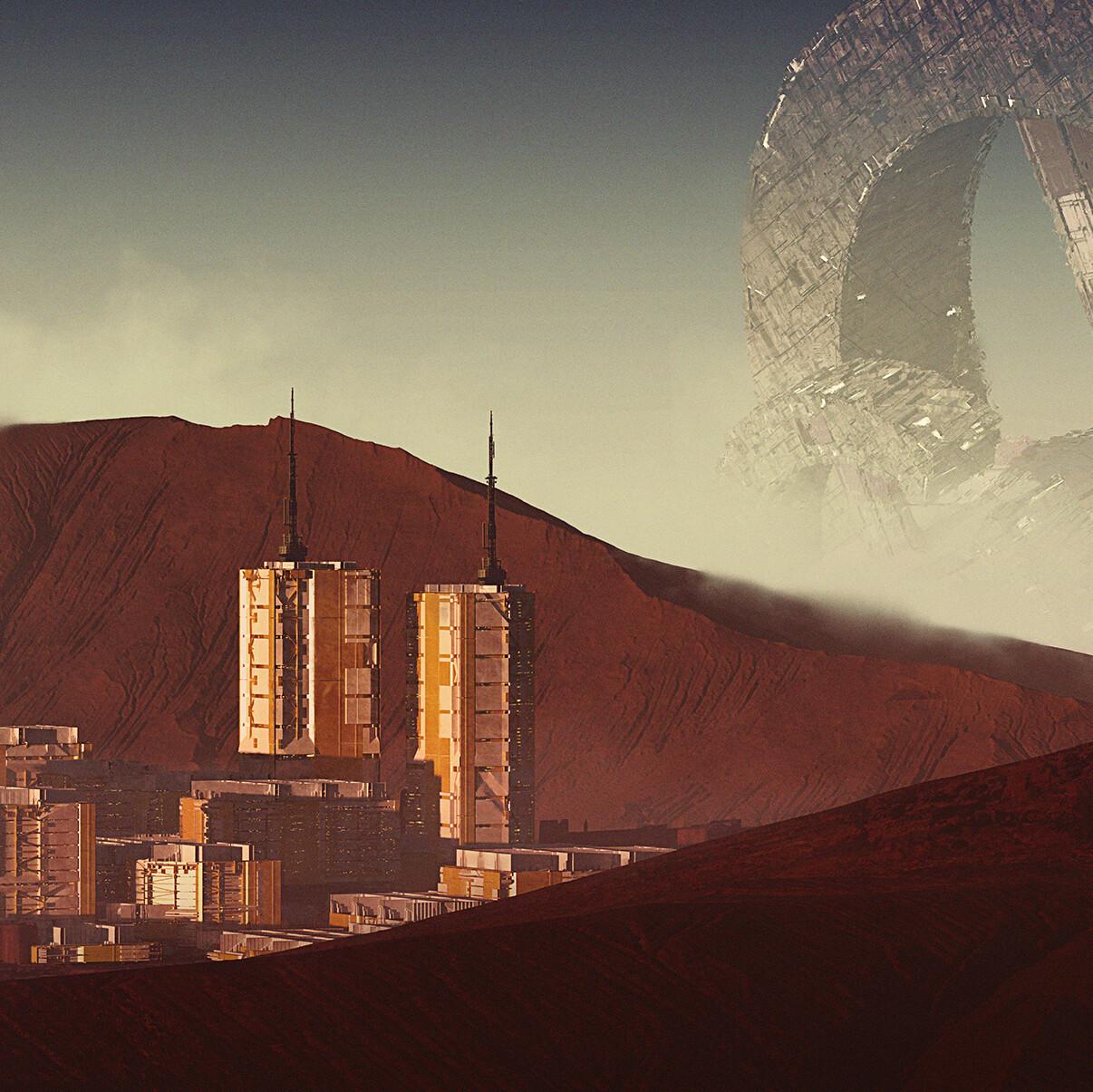 Settlement on Titan