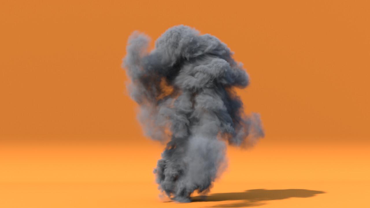 First Pyro Simulation